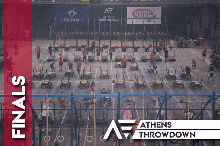 athens throwdown 2019 finals invitation image