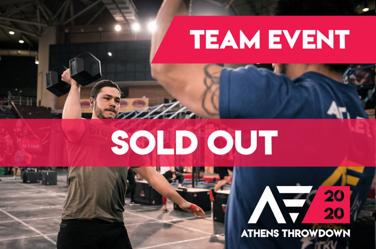 Athens Throwdown 2020 Team - Sold out