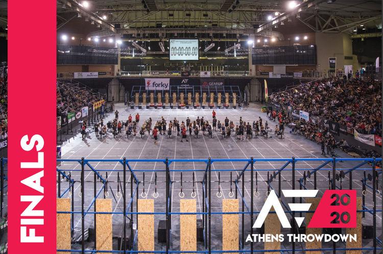 athens throwdown 2020 finals invitation image